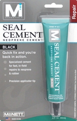 Seal Cement� 2 oz Black Neoprene Cement by M Essentials�