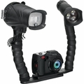 SeaLife DC1400 Pro Duo - Underwater Camera plus Digital Flash and Video Light