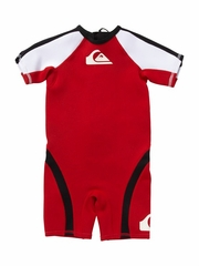 Quiksilver Syncro 1.5mm boys Toddler Springsuit - RED