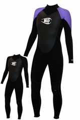 Womens full length 4/3mm Wetsuit