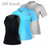Xcel Womens UV Shirts UPF Rated!