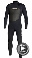 Xcel Infiniti X-Zip 4/3mm Wetsuit - Video Description