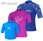 Xcel Kids Rashguards UV Protection Shirts