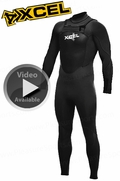 Xcel Men's Infiniti X-Zip 3/2mm Wetsuit CLOSEOUT SALE
