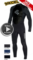 Xcel Men's SLX 4/3mm Wetsuit - FREE Shipping