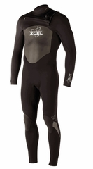 Xcel Men's SLX X-ZIP 2 4/3mm Wetsuit - New 2013 model