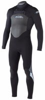 Xcel Men's SLX X-ZIP 3/2mm Wetsuit - New  2013