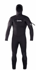 Xcel Mens Cold Water Diving Wetsuit Polar Hydroflex 8/7/6/5mm Men's hooded Wetsuit
