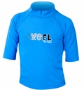 XCEL Toddler's UPF 50+ Short Sleeve Rashguard - Blue