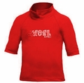 XCEL Toddler's UPF 50+ Short Sleeve Rashguard - Red