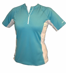 XCEL Women's Eco Ventex Short Sleeve Crew Neck - Blue