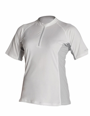 XCEL Women's Eco Ventex Short Sleeve Crew Neck - White