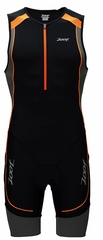 Zoot Men's Performance Tri Racesuit - Black/Blaze