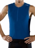 Zoot Men's TRIfit Mesh Top Blue - Closeout SALE