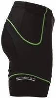"Zoot Men's Performance 6"" Tri Short - Black/Flash Green"
