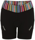 "Zoot Women's Performance Tri 6"" Short Triathlon- Black/Stripe"