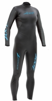 ZOOT Z Force 1.0 Womens Wetsuit 4/3/2mm