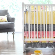 New Arrivals Lemon Drop 4 Piece Nursery Set