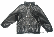 3Pommes Faux-leather Jacket