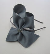 Bari Lynn Large Bow Headband