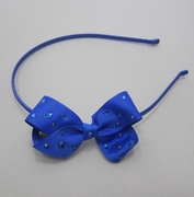 Bari Lynn Small Bow Headband