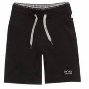 BOSS Black Jersey Shorts