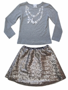 Charabia Top & Skirt Set