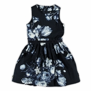 Jottum Sill Navy Dress