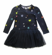 Stella McCartney Kids Primrose Navy Dress