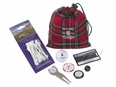 Old Course Open  Red Tartan Goody Pouch