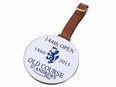 Old Course Open White Bag Tag