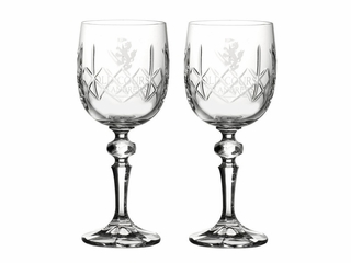 St Andrews Set of 2 Wine Glasses