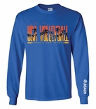 2016 USAV Beach Marbled Royal Performance LS