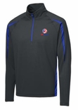 USAV Men's 1/2 Zip Colorblock Pullover