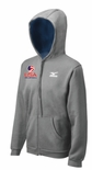 USAV Mizuno Men's Full Zip Fleece