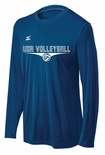 USAV Mizuno Men's LS Hybrid Top
