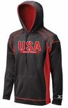 USAV Mizuno Men's Tech Fleece Hoodie