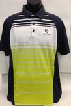 USAV Striped Polo
