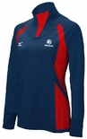 USAV Women's Drive 1/2 Zip Jacket