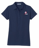 USAV Women's Modern Navy Polo