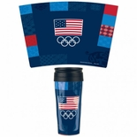 USOC Patterned Travel Mug