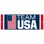 USOC Team USA Wood Sign
