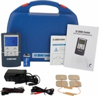 (4 in 1 Treatment!) TENS Unit, Muscle Stimulator, Interferential Unit and Microcurrent in One  (LG-QUADCOMBO)
