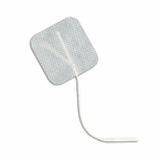 Hypo-Allergenic 2 x 2 INCH Square Electrode Pads (Sensitive Skin & Allergy Free)