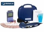 LG-8TMELITECOMBO - 8 Electrode TENS, Muscle Stimulator, Russian, Interferential and Ultrasound Therapy Kit