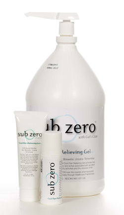 SUBZERO Pain Relief Gel