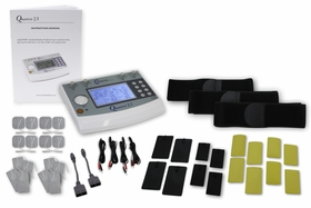 Quattro 2.5 Clinical TENS Unit, Muscle Stimulation, Russian Stim, and Interferential Unit