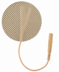 ONE PACK of 2 Inche Premium Round Electrode Pads (20-30 Uses) - CLICK to Select Quantity Needed (4 per pack)