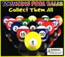 "Bounceing Pool Balls 2"" Self Vend 250pcs"