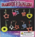 "Diamonds & Danglers 1"" Toy Capsules 250pcs"